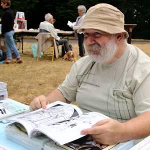 """Rémy Castan, éditeur à l'Atelier """"Tintamarre"""" de Vinassan (Aude)"""