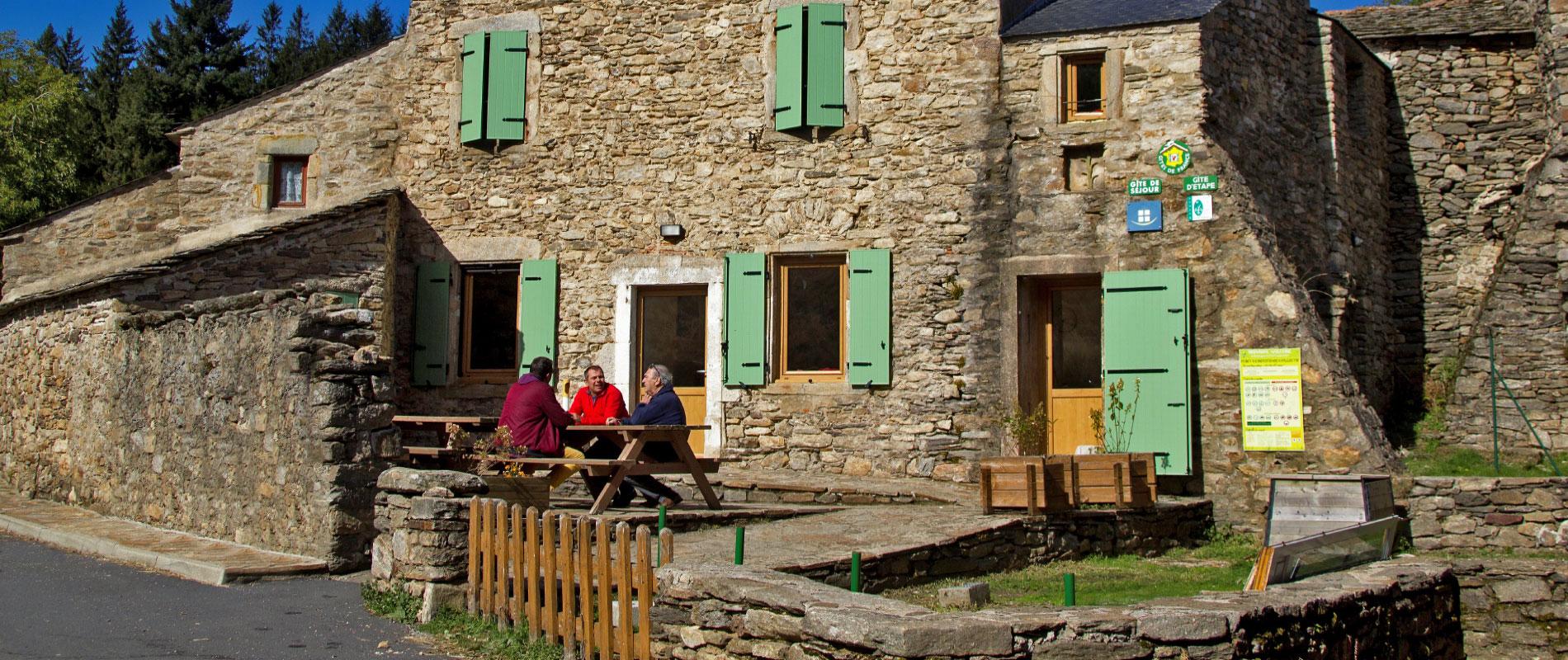 Rosis en montagne du Haut Languedoc. Inauguration gite René Magnaldi